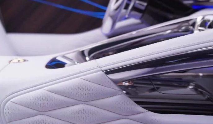 Mercedes'ten Ultra Lüks Maybach – GLS SUV için İlk Kokpit Görselleri!