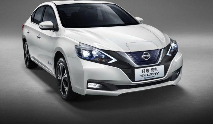 Nissan Çin'de Üreteceği İlk EV Otomobili Sylphy'yi Tanıttı!