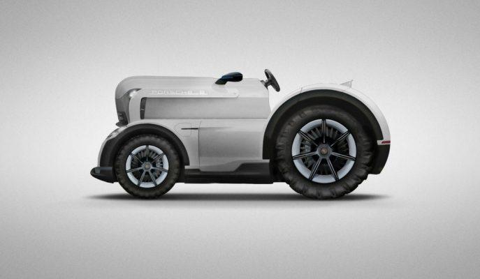 Porsche Mission E Tractor Konsepti ile Eski Zamanlarına Dönüyor!