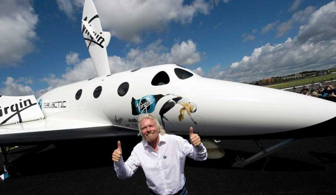 Richard Branson Virgin Galactic'in İlk Süpersonik Uçuşunu Gururla Duyurdu!