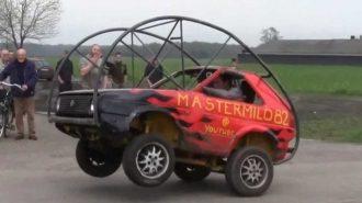 Rolling Car ile Sıradışı Bir Test Sürüşüne Tanık Olacaksınız