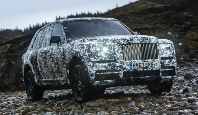 """Rolls Royce Cullinan SUV'un Arazi Yetenekleri """"National Geographic"""" Ekibiyle Geliştirilecek!"""