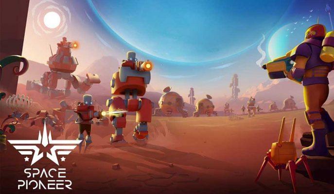 Shooter Tarzı Oyun Sevenler için Eğlenceli Yapım: Space Pioneer