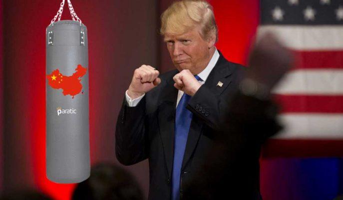 Trump Çin'e Ekstra 100 Milyar Dolar Vergi Getirmek İstiyor!
