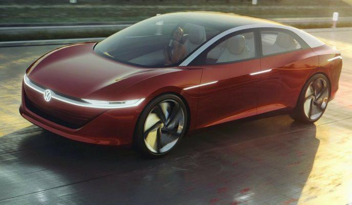 Volkswagen'in ID Vizzion Concept'i Çin Yolculuğuna Başladı!