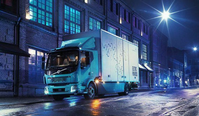 Volvo İlk Elektrikli Kamyonu FL Electric'i Gösterdi!