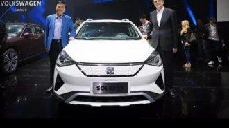 VW – JAC Motors Ortak Markası SOL E20 X Concept Pekin Fuarı'nda!