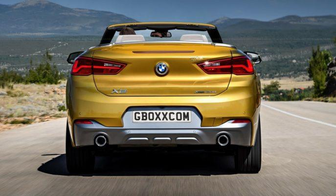 VW ve Range Rover'dan Sonra Cabrio SUV Yapısına BMW'de Katılıyor!