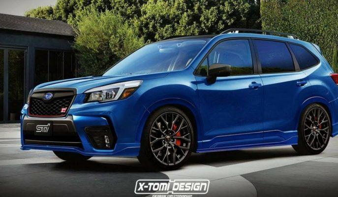"""X – Tomi Subaru'dan Önce Forester'a """"STI Versiyon"""" Yükledi!"""
