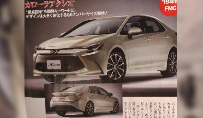 12. Nesil Corolla Japonya'nın En İyi Dergisinde Görüldü!