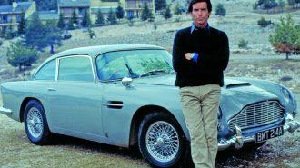 007 James Bond'un GoldenEye Hatırası Aston Martin DB5 Satılıyor!