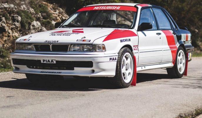 "Mitsubishi'ye Rallide Zafer Kazandıran ""Galant VR-4 Rally Car"" Satılıyor!"