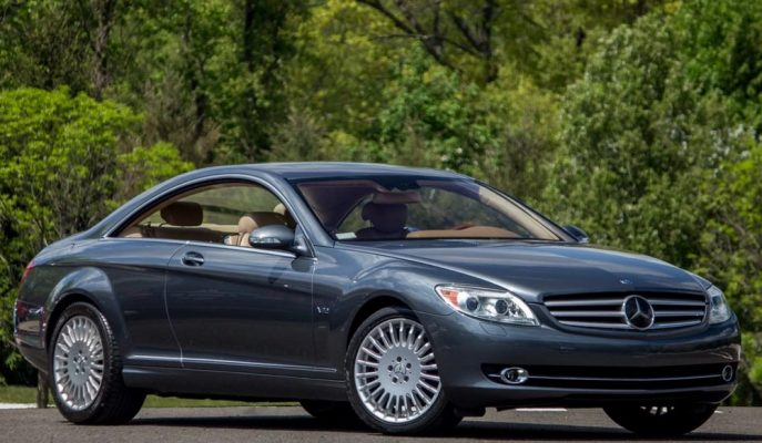 Mercedes'in CL600 Efsanesinden Biri 10 Bin Dolara Satışa Çıktı!