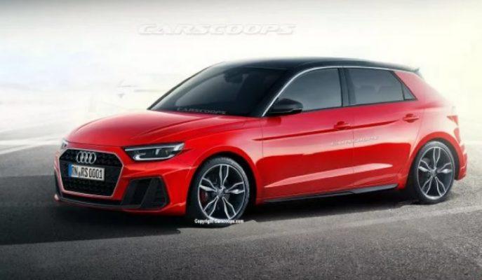 2019 Audi A1'in Nasıl Olacağına Dair İlk Görsel!