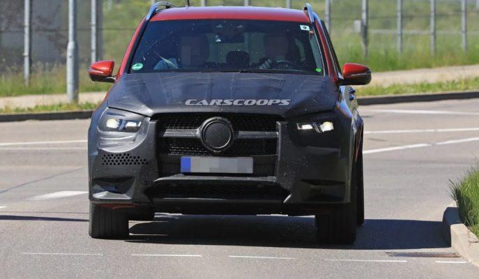 2019 Mercedes GLE'nin Ağır Kamuflajı Üzerinden Kaldırıldı!