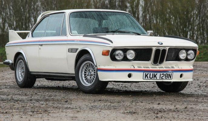 """Akla Zarar Fiyatla Satışa Çıkan """"1975 BMW 3.0 CSL Batmobile"""""""