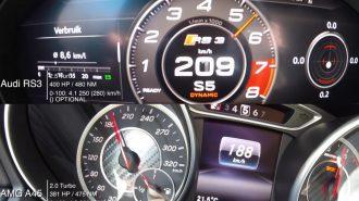 """Hızlı Akranlar Kapışıyor: """"Audi RS3 vs. Mercedes A45 AMG"""""""