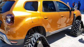 Dacia Duster'ın Palet Modifiyesi Her Koşulda İşe Yarar!