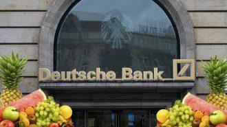 Deutsche Bank Kemer Sıkma Politikasında Personeline Meyve Almayı Bile Kesti!