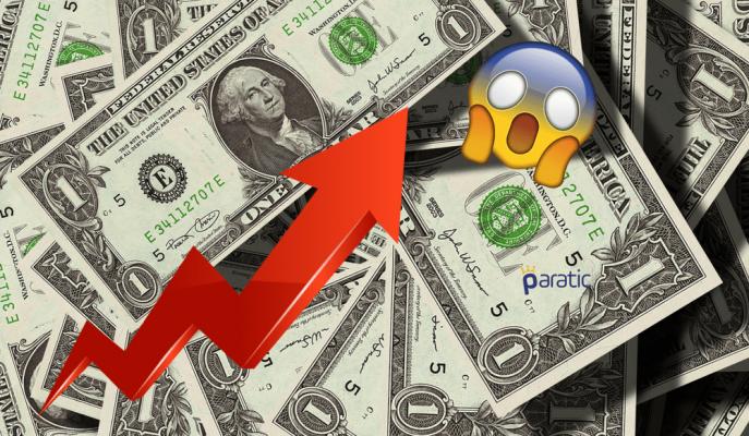 Dolar Yüksek Gelen Enflasyonun Etkisiyle 4,2411 Rekorunu Kırdı!