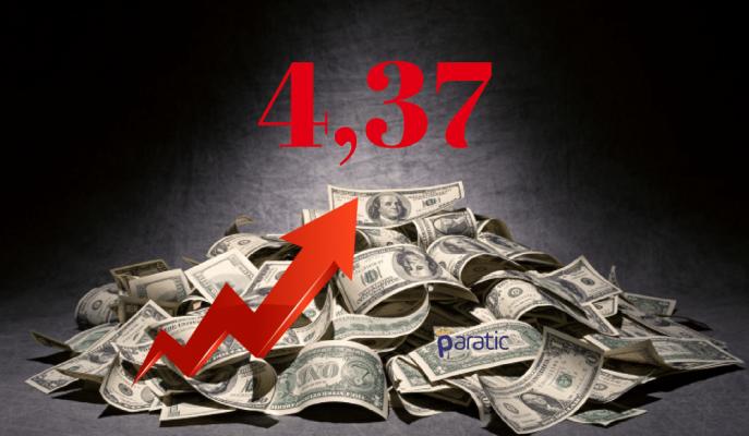Trump Sonrası Hızını Artıran Dolar 4,37 ile Rekor Tazeledi!