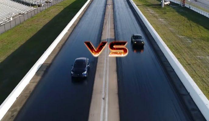 Tesla Model S Karşısına Şimdi de Drag Kralı Dodge Demon Çıkıyor!