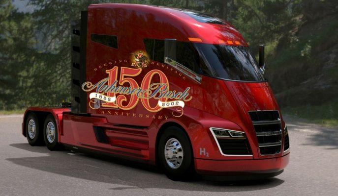 Dünyanın En Büyük Bira Üreticisi Nikola Motor'dan 800 Hidrojen – EV Kamyon Sipariş Etti!