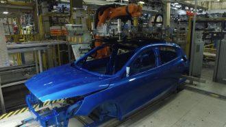 Yeni Ford Focus'un Almanya Tesisindeki Üretim Aşamaları!