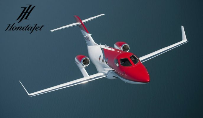 "Honda Daha Yüksek Teknoloji ve Menzile Sahip ""Elite Jet""i Tanıttı!"