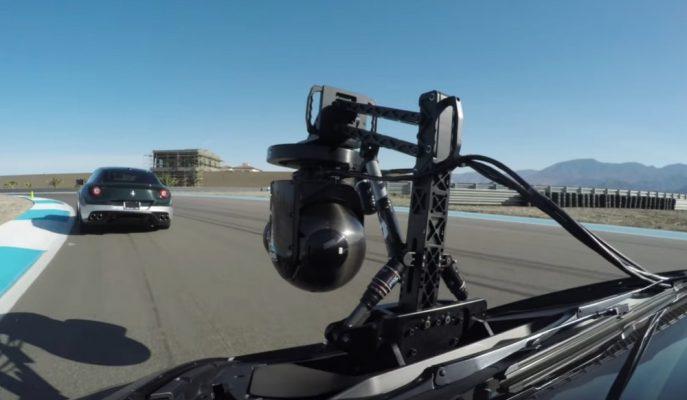 """En Hızlı Kamera Aracı Lamborghini """"HuraCam""""ın Nasıl Çekim Yaptığı Gösterildi!"""