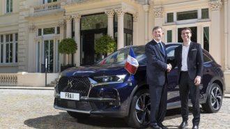 İngiltere'nin Fransız Büyükelçisi'ne Makam Aracı Olarak DS 7 Crossback SUV Gönderildi!