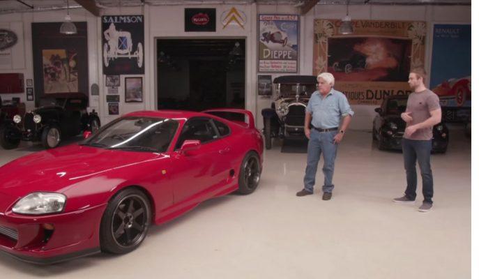 Paul Walker'ın Kardeşine Jay Leno'dan Toyota Supra!