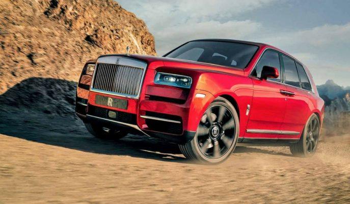 """Kraliyet Ailesinin ve Dünyanın En Lüks SUV'u: """"Rolls Royce Cullinan"""""""