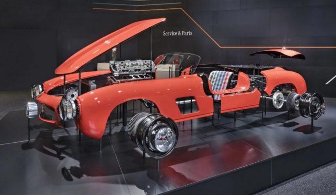 Mercedes Rüya Otomobili 1954 – 300 SL için Yeniden Parça Üretecek!