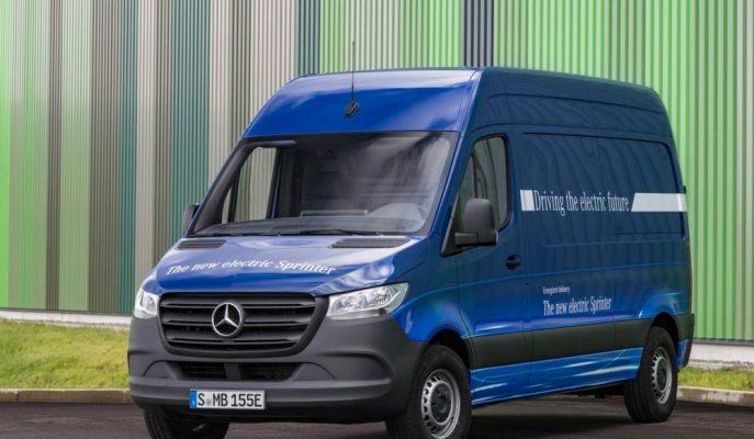 Mercedes Elektrikli eSprinter'ı İki Farklı Batarya ile Satışa Çıkartacak!