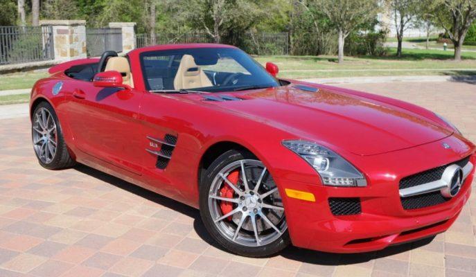 Mercedes'in En Tutkulu Aracı SLS AMG Roadster'lardan Biri Satışta!