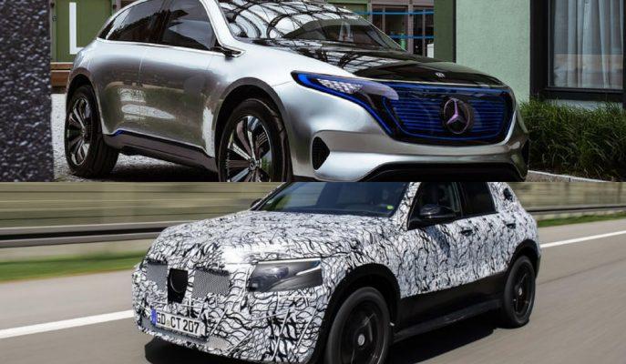 Mercedes'in EQC'si 2019 Yılı için Hazırlıklarına Devam Ediyor!