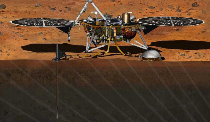 NASA Uzay Aracı InSight ile Mars Depremlerini İnceleyecek!