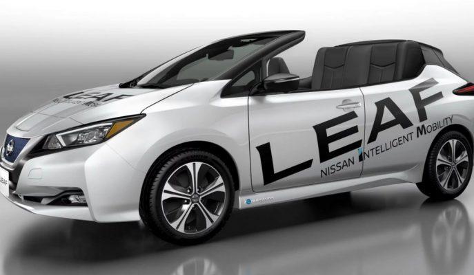 """Nissan Yeni Leaf Modelini """"Open Car""""a Dönüştürdü!"""
