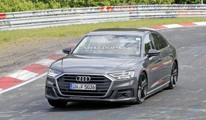 Nürburgring Pisti'nde Görülen 2019 Audi S8 Panamera Motoruyla Geliyor!