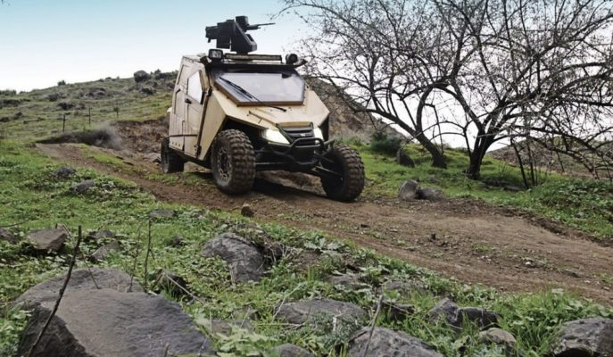 Plasan'ın Yagu Armors ATV'si Zırhlı Yapısıyla Sınır Görevinde!
