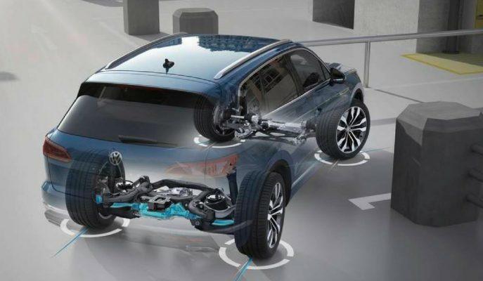 """VW Touareg'e Gelen """"All Wheel Steering"""" Direksiyon Dönüş Sistemine Şaşıracaksınız!"""