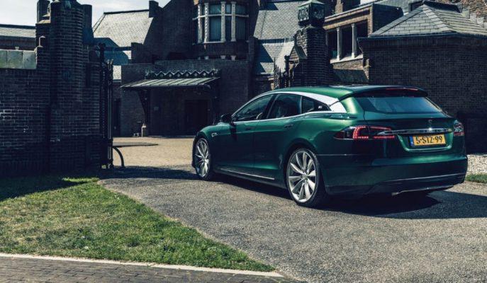 Tesla Model S'e RemezCar'dan Shooting Brake Yorumu!