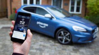 Volvo, V40 Modelini Test Etmek İsteyenlere Aracı Amazon'la Yolluyor