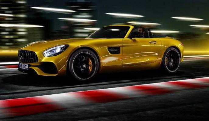 Yeni Mercedes – AMG GT S Roadster +300 km/h ile Aileye Katıldı!