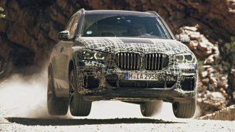 Yeni Nesil BMW X5'in İlk Olarak Arazi Performansı Gösterildi!