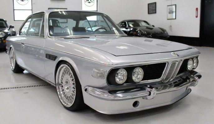 Restoresi 4 Yıl Süren BMW 2800 CS Satışa Çıkarıldı!