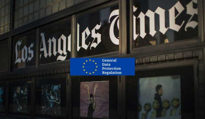 Yürürlüğe Giren GDPR, ABD'li Medya Sitelerini Avrupa'da Erişime Kapattı!