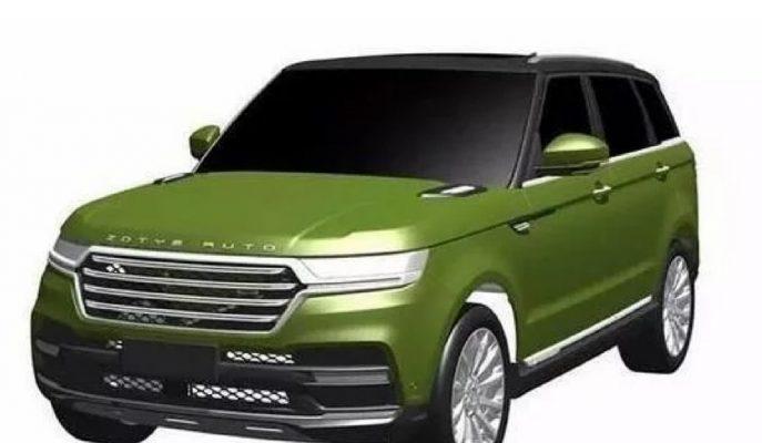 Zotye Auto T800 Modelinin Range Rover Sport Benzerliği!