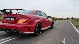 1200 Beygirlik Mercedes C63 AMG 2.9 saniyede Hızlanıyor!